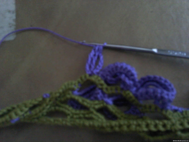 Как обвязать шарф 11