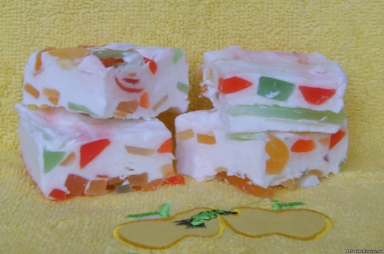 Мыло своими руками из детским мылом 356